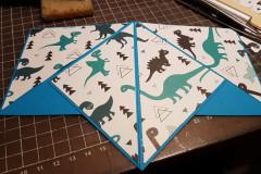 Zeltkarte, Dino
