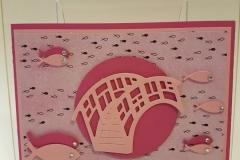 Kommunion, Konfirmation - pink
