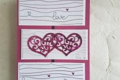 Hochzeitskarte, außen